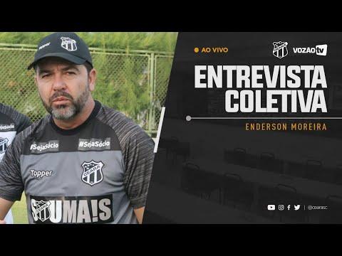 COLETIVA Enderson Moreira  17052019  Vozão TV