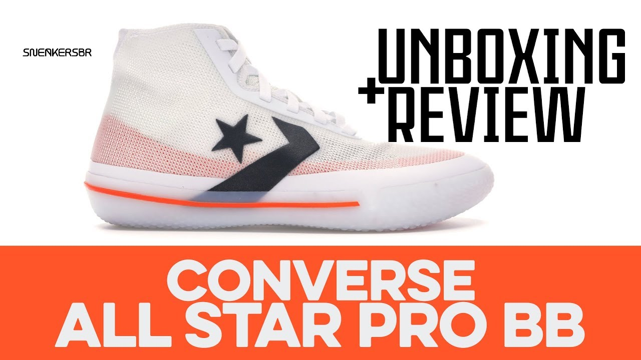 UNBOXING+REVIEW Converse All Star Pro BB