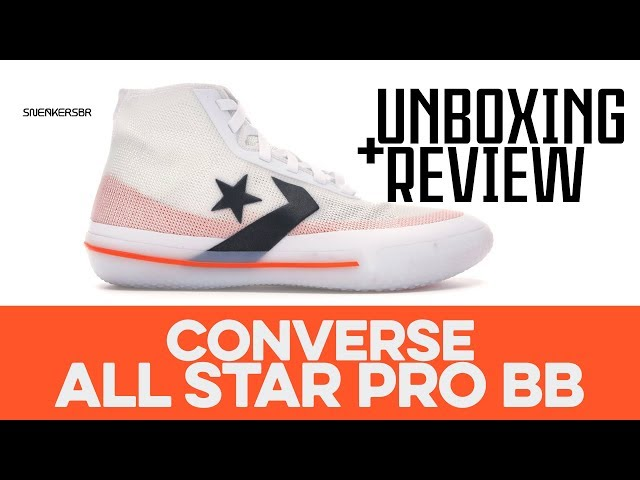 UNBOXING+REVIEW Converse All Star Pro BB YouTube