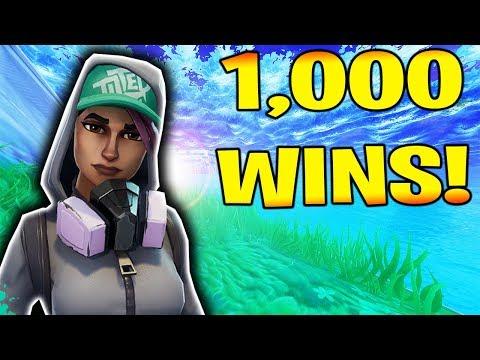 MY 1,000th FORTNITE WIN!!!