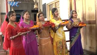 झूला लागल देवी माई के - Jhula Lagal Devi Mai Ke - Anu Dubey - Bhojpuri Bhakti Video Jukebox 2016