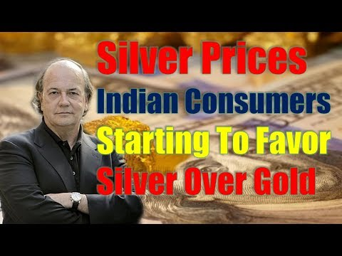 Jim Rickards: Silver Prices Indian Consumers Starting To Favor Silver Over Gold