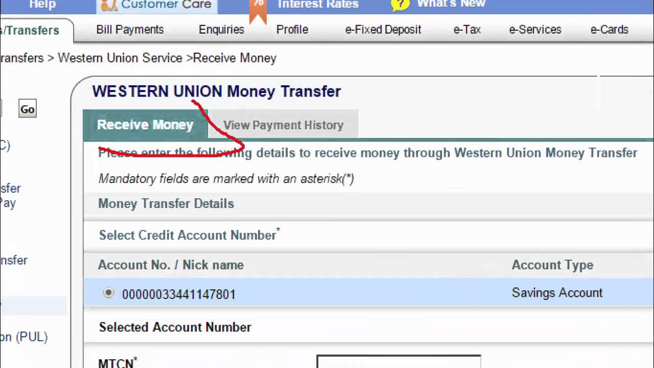 How To Receive Or Withdraw Western Union Money To Your Bank Account Tamil Tutorials Youtube