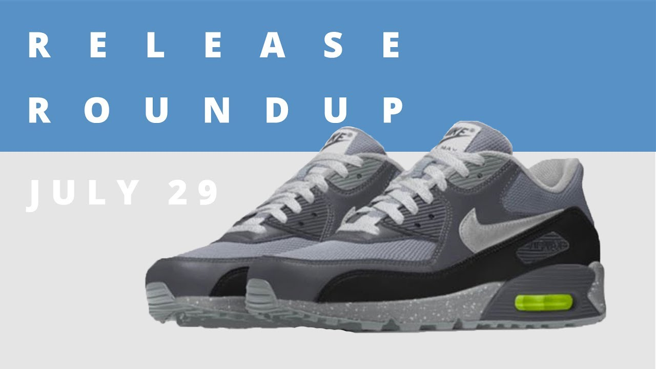 separation shoes baed9 439d8 John Mayer x Nike Air Max 90 iD and More  Release Roundup July 29