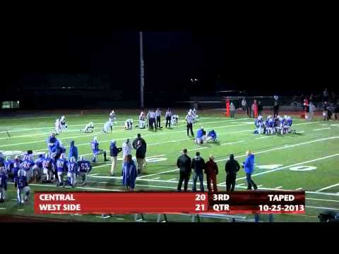 SPRINGFIELD BLITZ---Central at West Springfield 10-25-2013