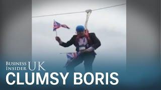 London Mayor Boris Johnson's clumsiest moments