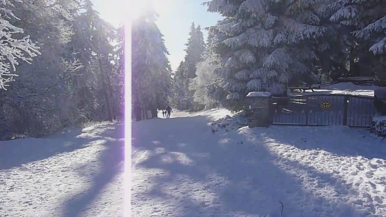 Skifahren Im Taunus