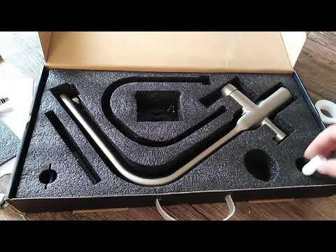 Gappo G4399-4 смеситель для кухонной мойки. Кран для кухни. Faucet Mixer. Гаппо