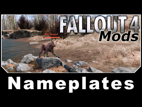 Fallout 4 Mods - Nameplates - Floating Healthbars