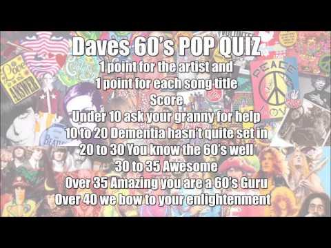60s music quiz
