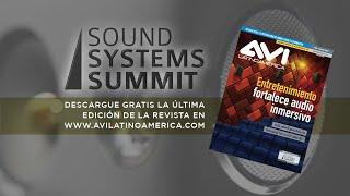 Sound Systems Summit - Bienvenida