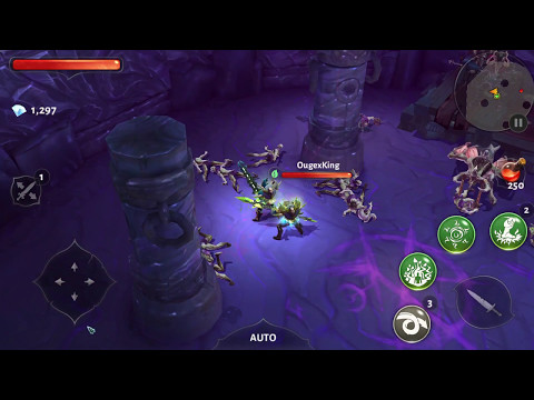 Dungeon Hunter 5-low VS High Graphics-CAN U TELL THE DIFFERENCES?? [FULL HD]