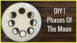 DIY | Phases Of The Moon For Kids (3 Ways)