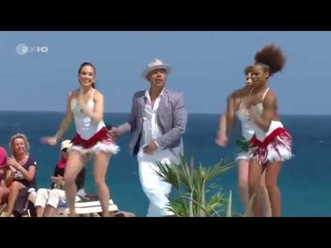 Lou Bega - Mambo Nr 5 (German TV 2014 - ZDF-Fernsehgarten on tour)