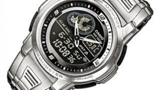 casio aqf 102wd 1bvef montre en main fr