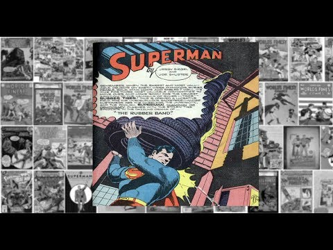"Superman: ""The Rubber Band"", Worlds Finest Comics #15"