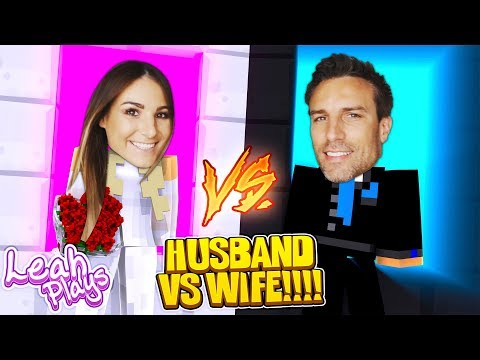 Minecraft LEAH PLAYS || PORTAL TO WIFE LIFE VS PORTAL TO HUSBAND LIFE IRL!!!