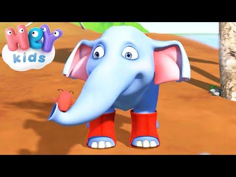 Paola Masciadri – L' elefante con le ghette – Cantece pentru copii in limba italiana