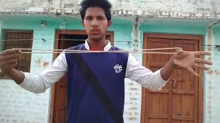 Magic with rope,magic trick reavled in hindi