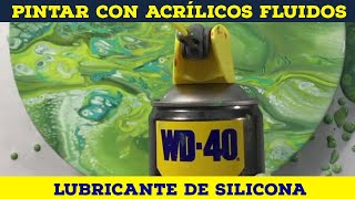 14 WD40: ADDITIVES FOR POURING - Acrylic Fluid Art Course: Acrylic Pouring & Fluid Painting