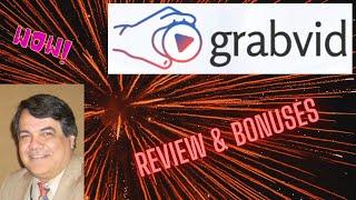 Grabvid Review \u0026 Bonuses