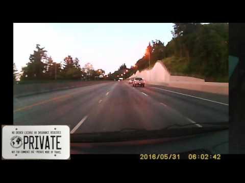 Road Raging in Portland, Oregon