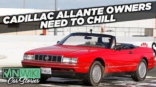Cadillac Allante owners have no sense of humor