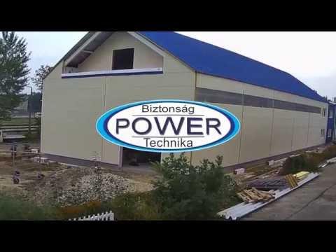 Power Biztonságtechnika - új épületszárny építés