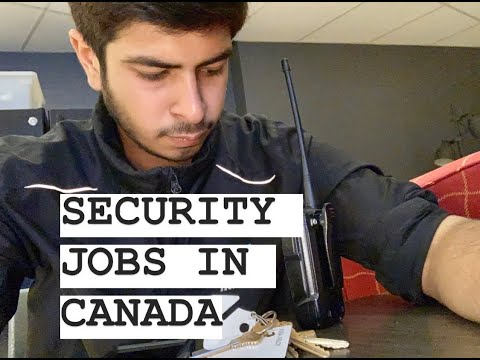 Security Jobs In Canada