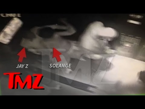 Jay Z PHYSICALLY ATTACKED by Beyonce's Sister Solange | TMZ