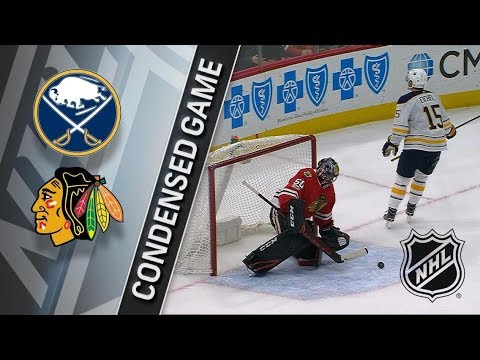 Buffalo Sabres vs Chicago Blackhawks – Dec. 08, 2017 | Game Highlights | NHL 2017/18. Обзор матча