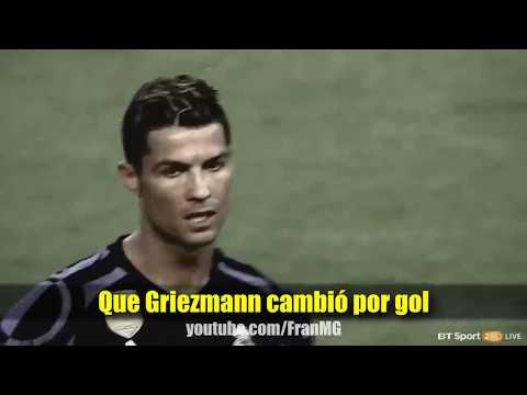 Canción Atletico Madrid vs Real Madrid 2 1 Parodia Wisin   Escápate Conmigo ft  Ozuna 2017