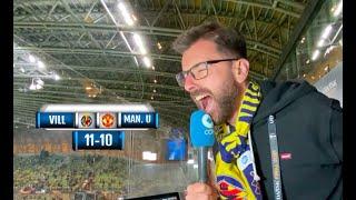 Así narró la histórica tanda de penaltis del Villarreal - Manchester United en COPE Rubén Martín