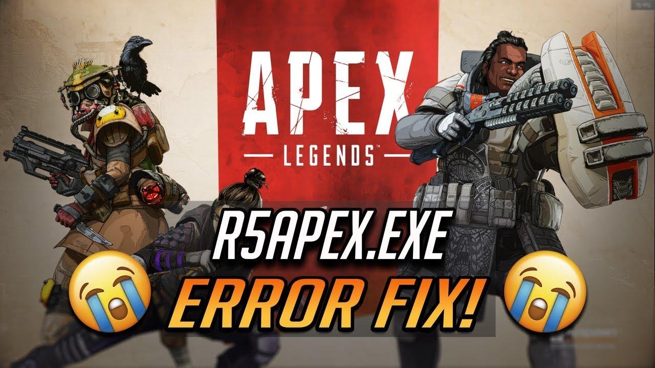 r5apex.exe application error crash