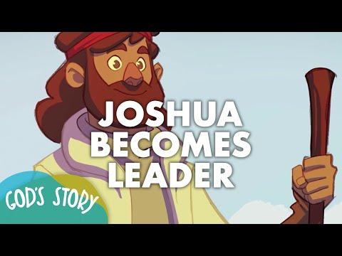 God's Story: Joshua Becomes Leader