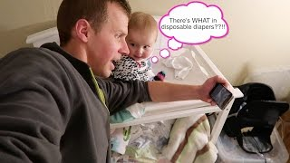 There's WHAT in Disposable Diapers?!