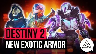 DESTINY 2 | New Exotic Armor & Gear Stat Changes