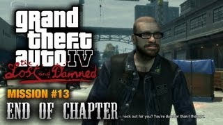 GTA: The Lost and Damned - Mission #13 - End of Chapter (1080p)