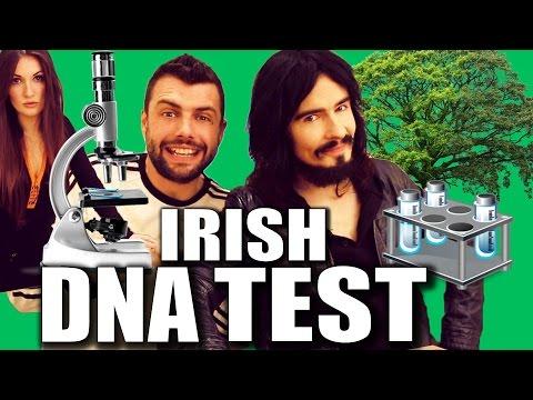 Irish People Take DNA Test -