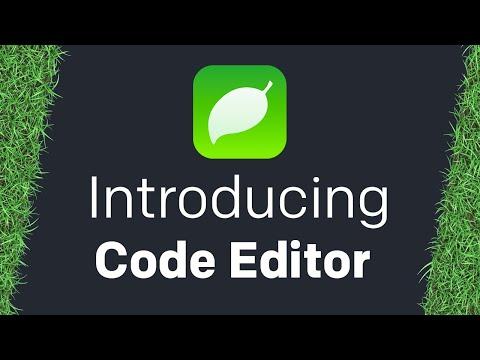 Introducing Code Editor