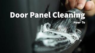 How to Clean Interior Door Panels