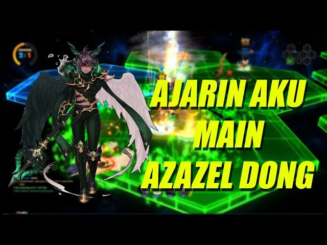 BELAJAR HERO UNIQUE AZAZEL !! - Lost Saga Indonesia