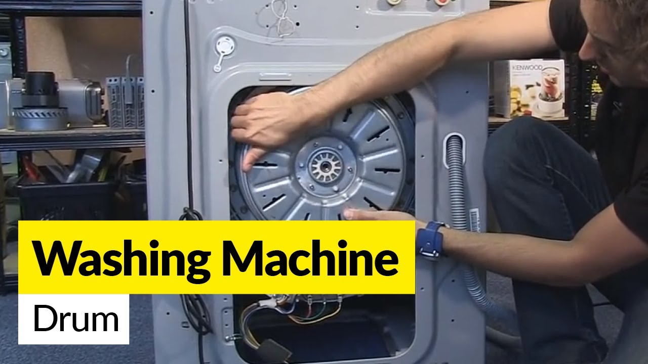 How To Diagnose Drum Problems In A Washing Machine Youtube