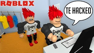 MY INICAN CLON WANTS TO ROB ME THE ROBLOX CHANNEL *Geko666* 😭 [Series/Roleplay]