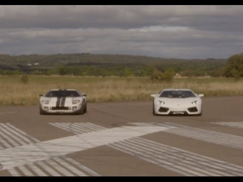 Ultra HD 4K RACE Ford GT Kompressor vs Lamborghini Aventador LP700-4 - presented by Samsung from YouTube · Duration:  2 minutes 23 seconds