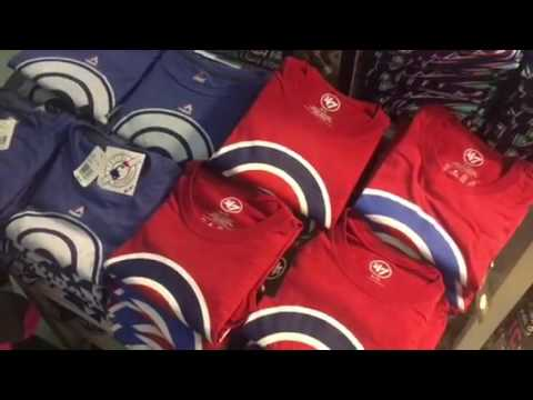 Chicago Cubs World Series Gear For Sale At O'Hare Airport