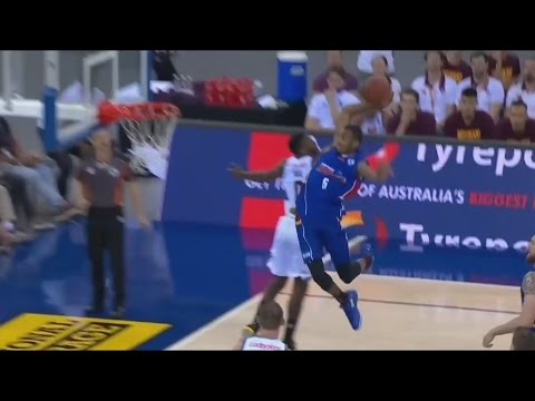 Terrance Ferguson TAKES FLIGHT for the AND1 Dunk