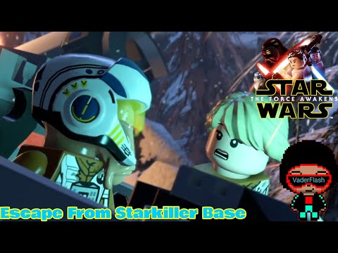 They Made It This Far!?!|Lego Star Wars:The Force Awakens DLC#3 |