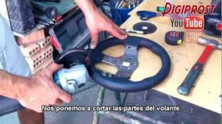 F1 2013 wheel G27mod Ps3-Pc, (Fabricacion del volante)