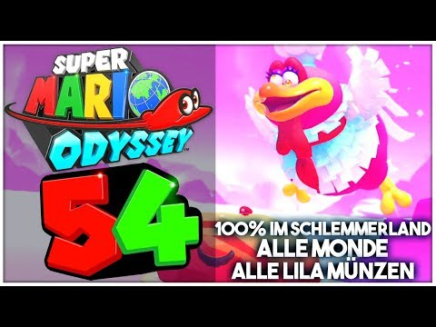 Super Mario Odyssey Part 54 Alle Power Monde Lila Münzen Im